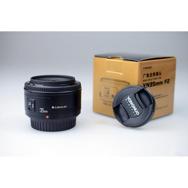 Lente Yongnuo Yn 35mm F/2.0 P/ Canon 70d T6i 7d 5d T5i
