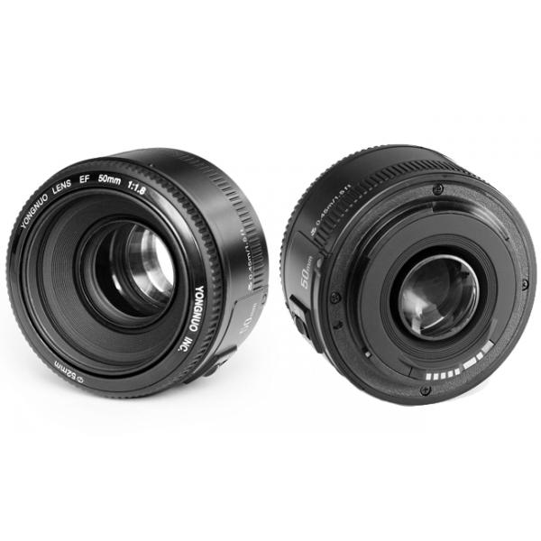 Lente Yongnuo Yn 50mm F/1.8 P/ Canon 70d T6i 7d 5d T5i