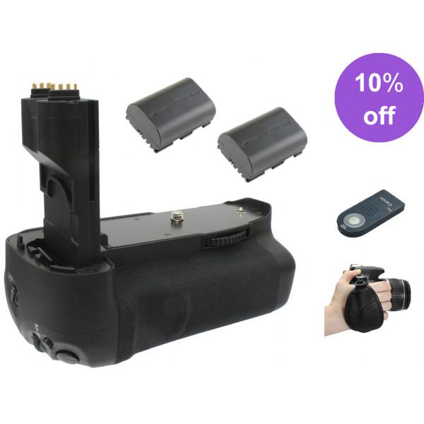 Kit Battery Grip 7D Alça Mão + Bateria + Controle +Nf