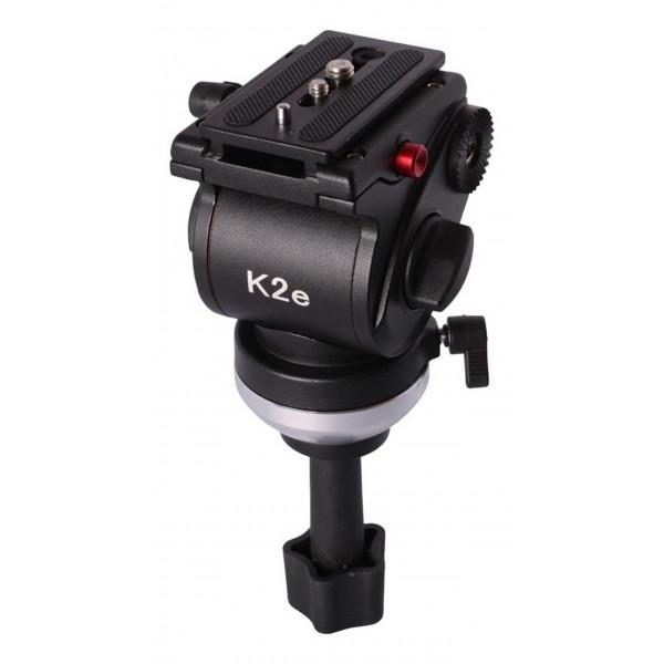 Cabeça Hidráulica Semi circulo K2E Profissional 5kg Video