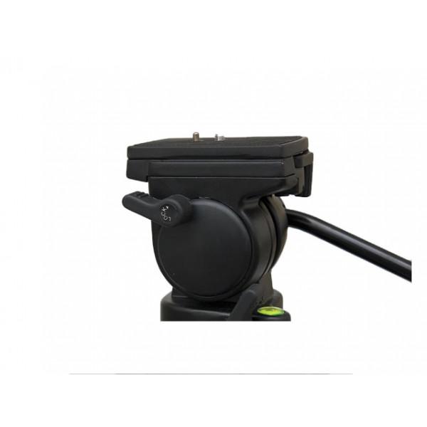 Cabeça Tripé Fluida Pan Tilt Até 15Kg ST650 Engate Rapido Nf