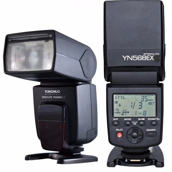 Flash Yongnuo Yn-568EX TTL Nikon D7000 D7100 D5000 +Nf