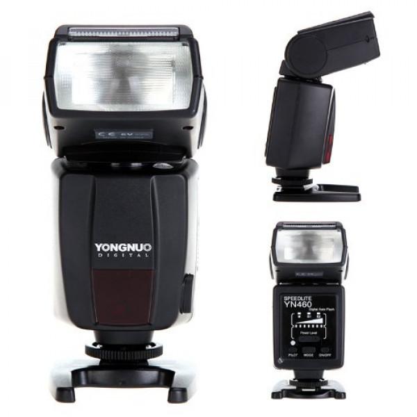 Flash Speelight Yongnuo Yn460 Para Nikon Canon Speedlite +Nf