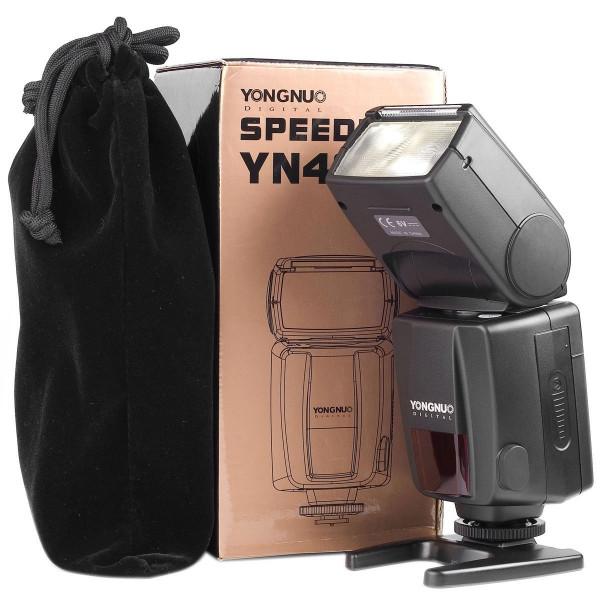 Flash Speedlite Yn-468ii Ttl Canon +Difusor 7D 60D 700D T5i