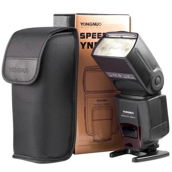 Flash Yongnuo Yn560ii Yn-560 Ii Nikon Canon Speedlight  + Nf