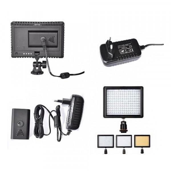 Kit Led HD 160 + Fonte  de Energia CN-AC2 Garantia + Nf