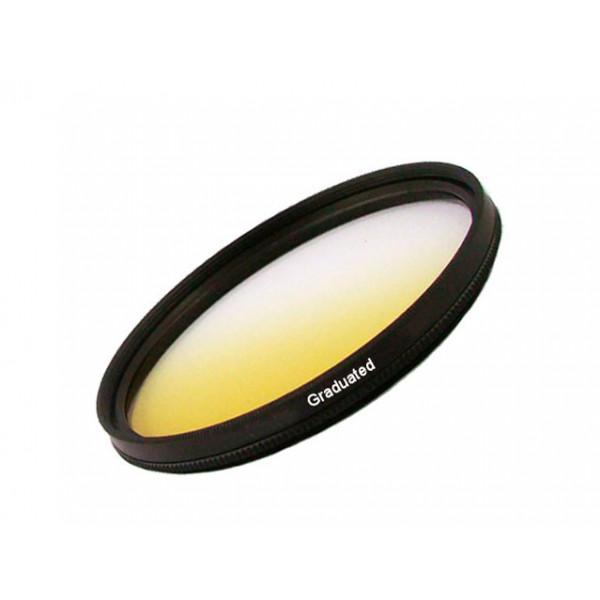 Filtro Gradual Amarelo 55mm 18-70mm 75-300mm Sony Alpha