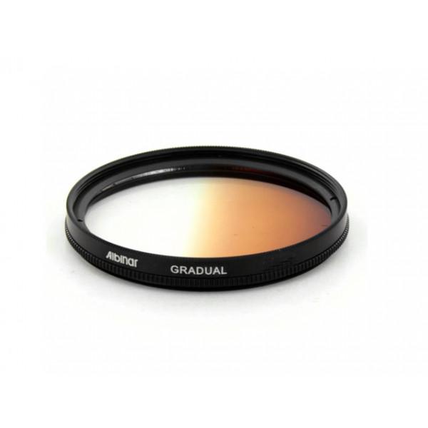 Filtro Gradual Sépia 55mm 18-70mm 75-300mm Sony Alpha