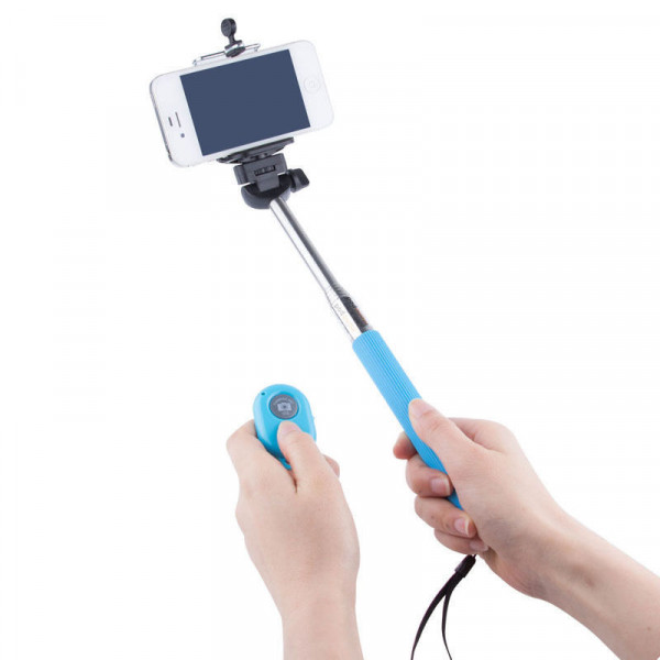 Pau Selfie + Controle Bluetooth + Suporte Celular Gopro +Nfe