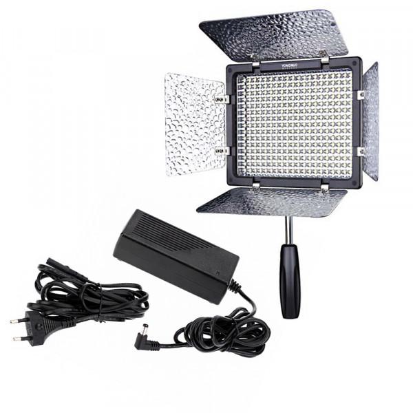 Kit Led YN-600 + Fonte  de Energia Garantia + Nf