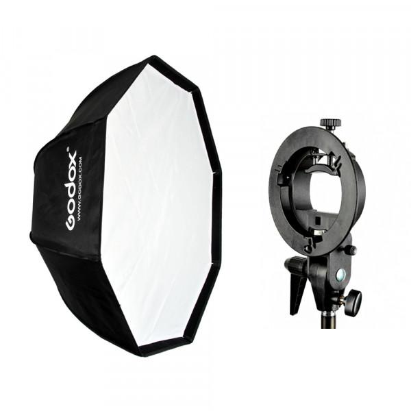 Kit Octabox Godox 95cm Bowens + Suporte Speedlite