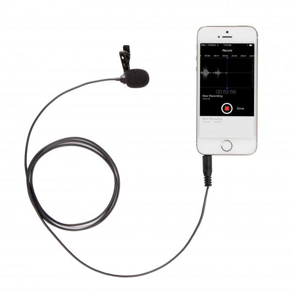 Microfone Lapela Para Iphone Ipad Boya By-lm10 Celular