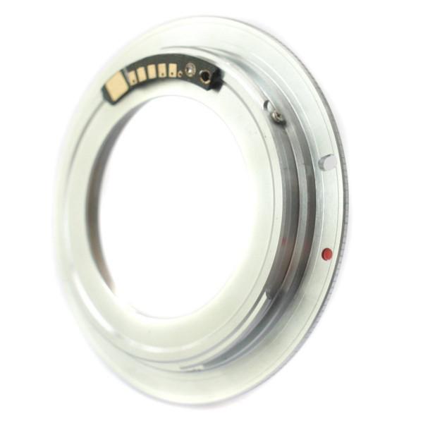 Adaptador M42 com chip p/ Canon EOS + Brinde + Garantia + NF