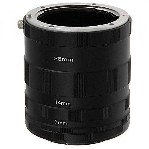 Tubo Extensor Para Macro Fotografia Nikon D7000 D5200 D90