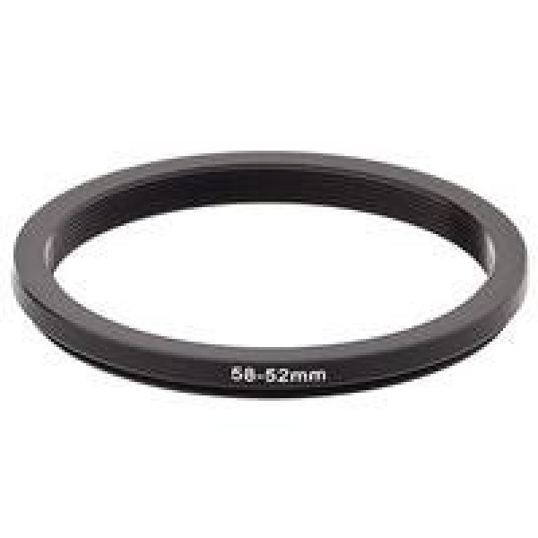 Anel Adaptador Para Lentes Step Down 58mm-52mm 58-52 + Nf