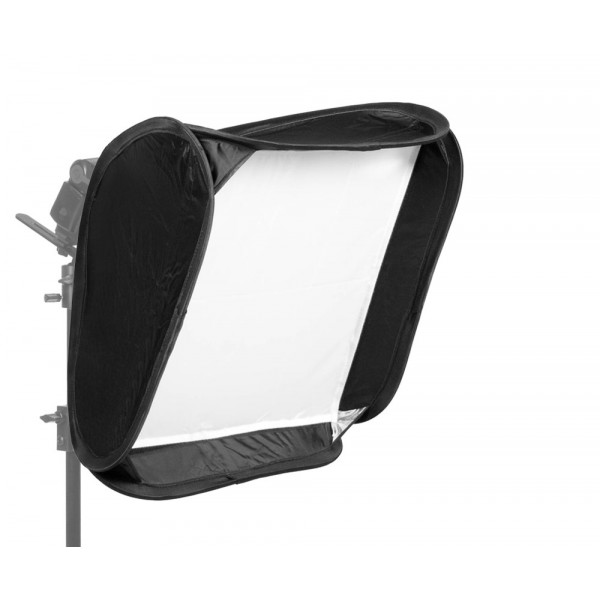Softbox Para Flash Dedicado 60 X 60 Cm. Speedlite. Dobravel