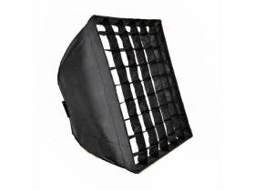SoftBox 60x60 Encaixe Bowen Portátil Com Grid Bolsa Godox