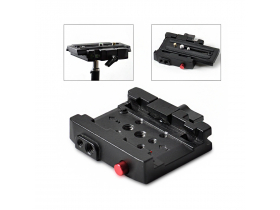 Kit Encaixe Quick Release + Plates padrao Manfrotto 501