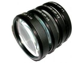 Kit Lentes Close-up Macro +1+2+4+10 58mm 18-55mm T5i 60D 70D