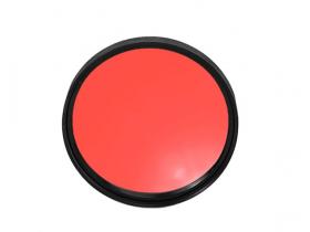 Filtro Colorido Vermelho 67 mm 18-135mm Canon T5i 70D 700D