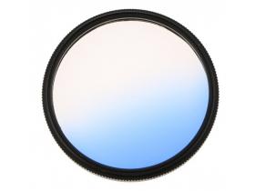 Filtro Gradual Azul 58mm 18-55mm Canon 60D T5i 70D