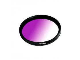 Filtro Gradual Roxo 52mm 18-55mm Nikon D5100 D7000 D3200