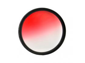 Filtro Gradual Vermelho 72mm 28-135mm T2i 550D Canon 70D T5i