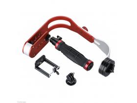 Kit Steadicam Dslr + Duporte p/ Smartphone/GoPro