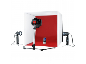 Mini Estudio Fotografico Portatil Easy 50 Cm 110 Volts + Nf
