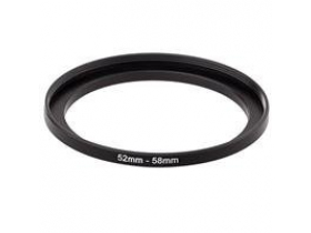 Anel Adaptador Para Lentes Step Up 52mm-58mm 52-58 + Nf