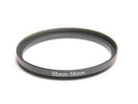 Anel Adaptador Para Lentes Step Up 55mm-58mm 55-58 + Nf