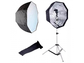 SoftBox Sombrinha 80 Octa Universal Flash e Continua