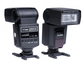 Flash Speedlite Godox TT560 Gn38 Camera Canon Nikon