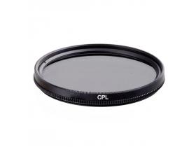 CPL Polarizador 55mm Lente 18-70mm 50mm Canon Sony Alpha