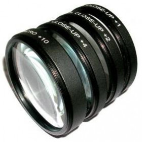 Kit Lentes Close-up Macro +1+2+4+10 55mm 18-70mm 50mm Sony
