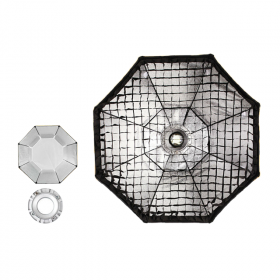 SoftBox 140cm Octa Bowen Com Grid Bolsa Godox