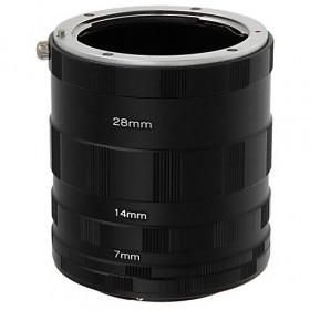 Tubo Extensor Para Macro Fotografia Canon Eos Ef Dsrl +Nf