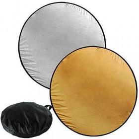 Disco Rebatedor E Difusor Circular 2 Em 1 de 110 cm + Bolsa